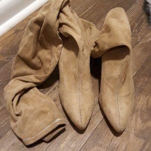 Misguided overknee sock boots sz.39/8-8.5